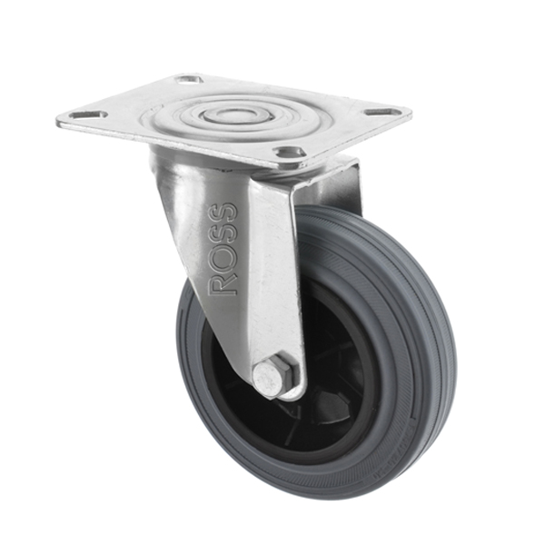 2260 Series Casters Rubber Wheel