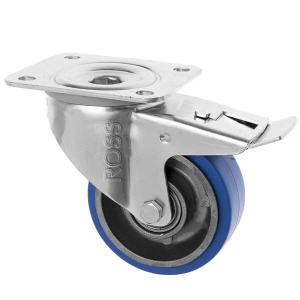 3360 Series Casters High Temp Rubber Wheel