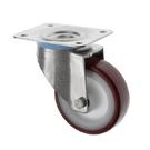 Stainless Steel Castors SS Series Medium Duty Polyurethane Wheel