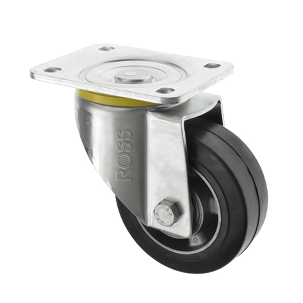 5000 Series Casters Rubber Wheel