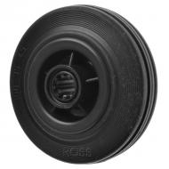 Black Rubber Caster Wheels