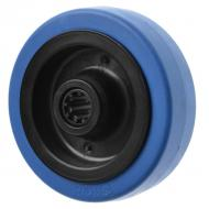 3360 Blue Rubber Caster Wheels