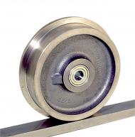 V Grooved and Flanged Rail Wheels