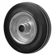 3360 Black Rubber Metal Centre Caster Wheels