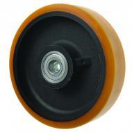 Cast Iron Centre Polyurethane Wheels