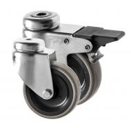 Castors Rubber Wheel 310 Series