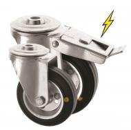 Bolt Hole Castors Anti Static Wheel 4000 Series