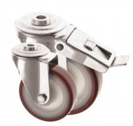 Bolt Hole Castors Polyurethane Wheel 4000 Series