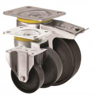 Cast Iron Metal Castors 5000 Series