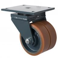 LAG G80 Cast Iron Twin Wheel Castors