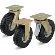 Heavy Duty Super Elastic Rubber Castors