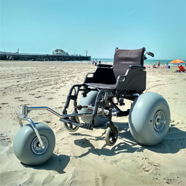 Make your Own Beach Wheelchair