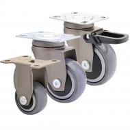 Grey Designer Soft Running Castors