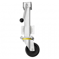 Rubber Wheel Heavy Duty Jacking Castors RH Series