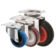 Industrial Castors Top Plate Medium Duty