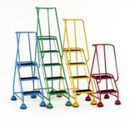 Mobile Steps and Warehouse Safety Steps