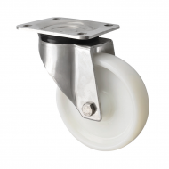 Stainless Steel Castors Heavy Duty Nylon Wheel HSS Series