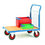 Platform Trolley with Mesh Panels