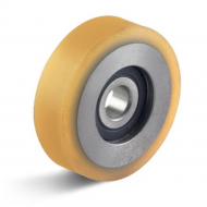 Yellow Polyurethane Guide Rollers
