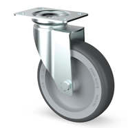 Zinc Plated Institutional Castors