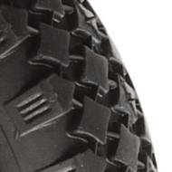 Diamond Tread Pneumatic Wheels All Sizes
