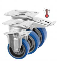 High Temp Rubber Castors 3360 Series