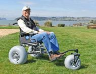 Make your Own Beach Wheelchair