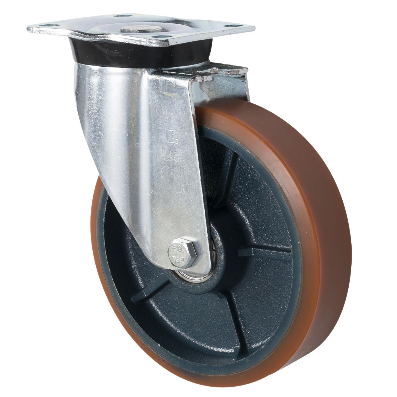 Pressed Steel Heavy Duty LAG Castors