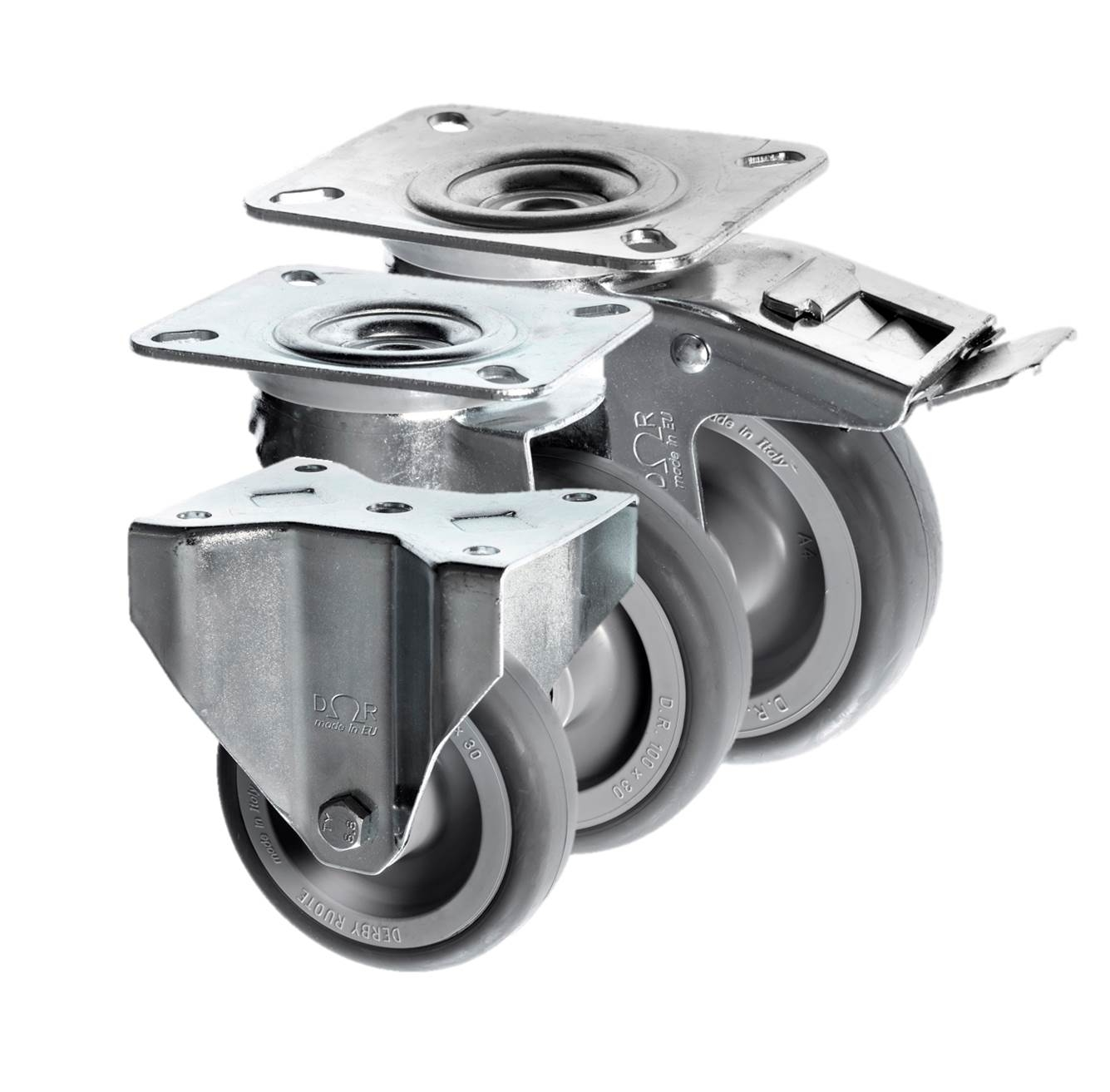 Thermoplastic Rubber Castors 3360 Series