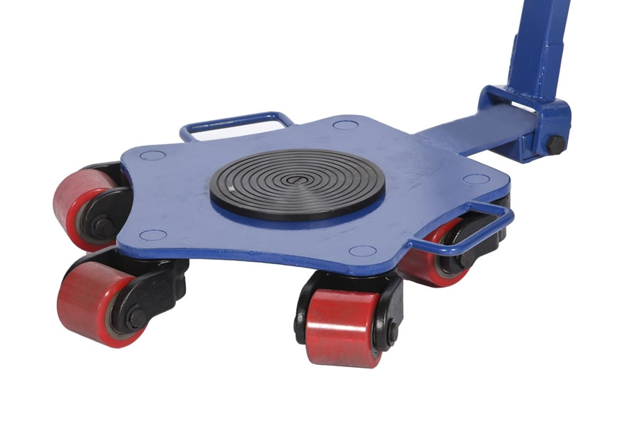 Machine Moving Skates and Rotating Dollies