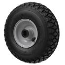 Pneumatic Rubber Wheels Metal Centered