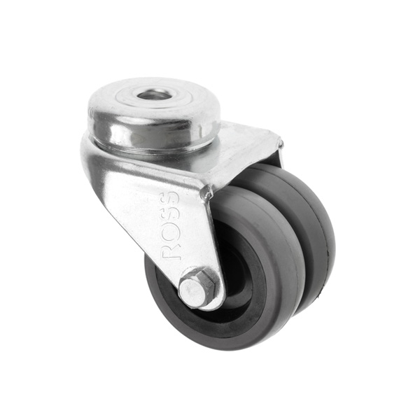 360 Series Bolt Hole Casters Rubber Wheel