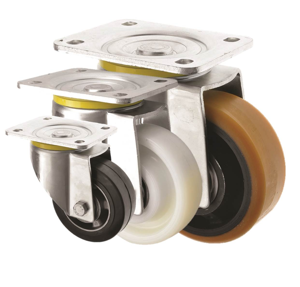 Heavy Duty Castors Top Plate