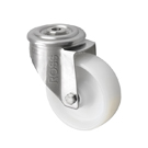 Stainless Steel Castors SS Series Medium Duty Bolt Hole Nylon Wheel
