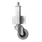 Jacking Castors Medium Duty Grey Rubber Wheel JA Series