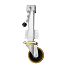 Jacking Castors Polyurethane Wheel RH Series Heavy Duty