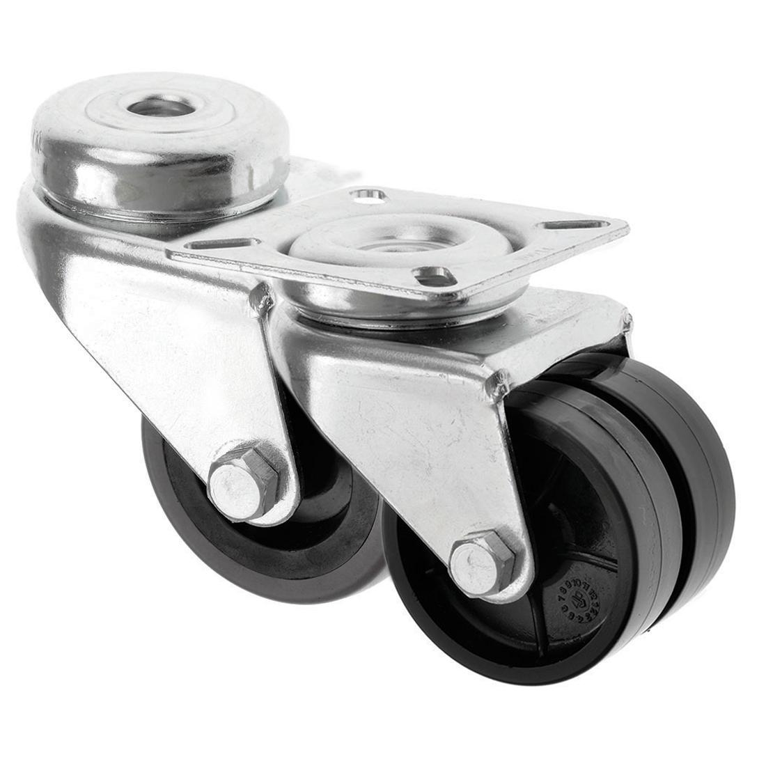 Light Duty Twin Wheel Castors