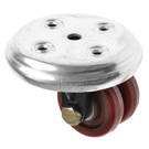 Low Level Castors Series Polyurethane
