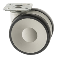 Designer Castors Plate Fitting LS Series