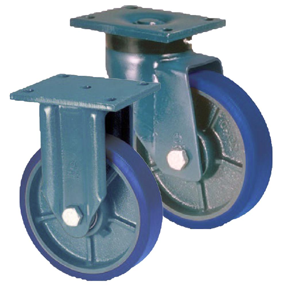 LAG E70 Fabricated Steel Castors