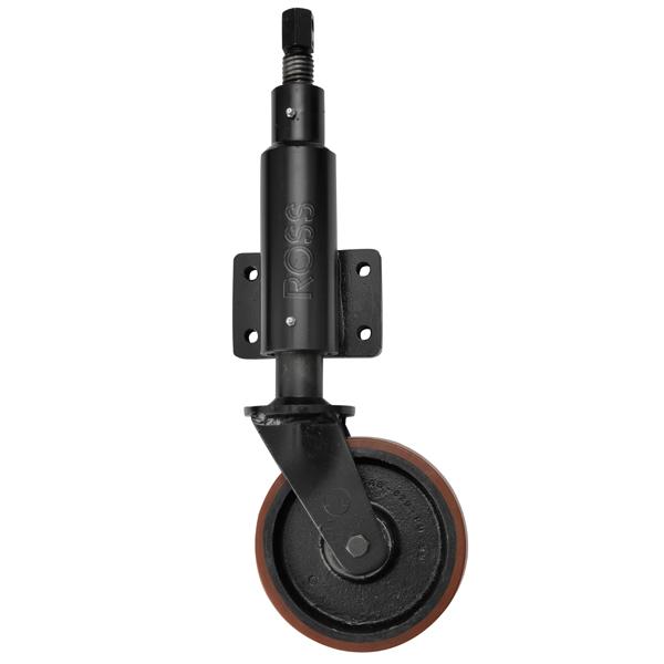JA6 Series Extra Heavy Duty Jacking Casters Polyurethane Wheel
