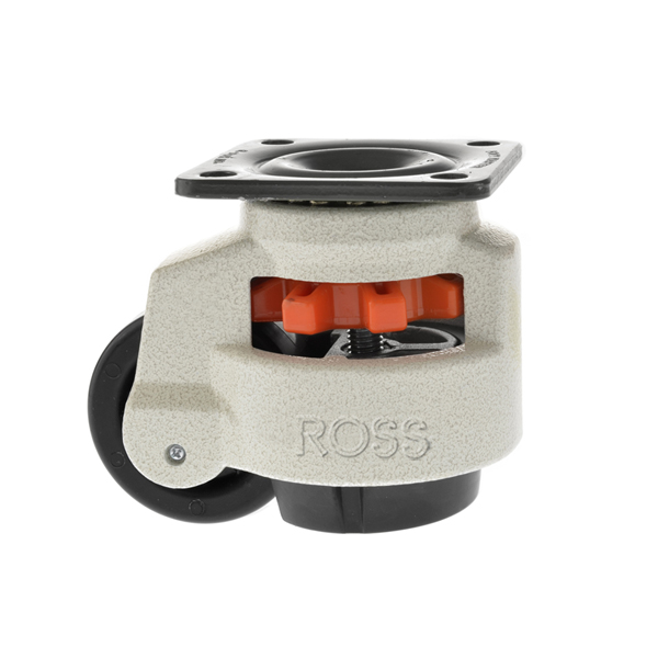 Footmaster Castor Plate Fitting RHD Series Levelling Castor