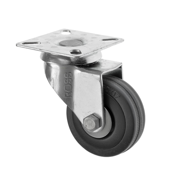FS Series Castors Rubber Wheel