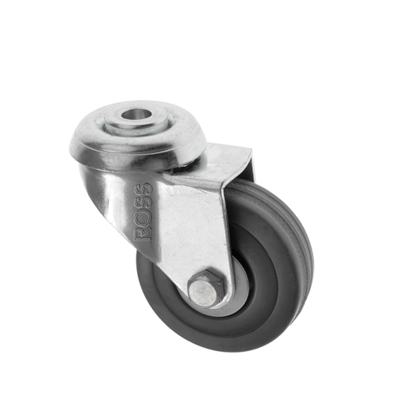 FS Series Casters Rubber Wheel