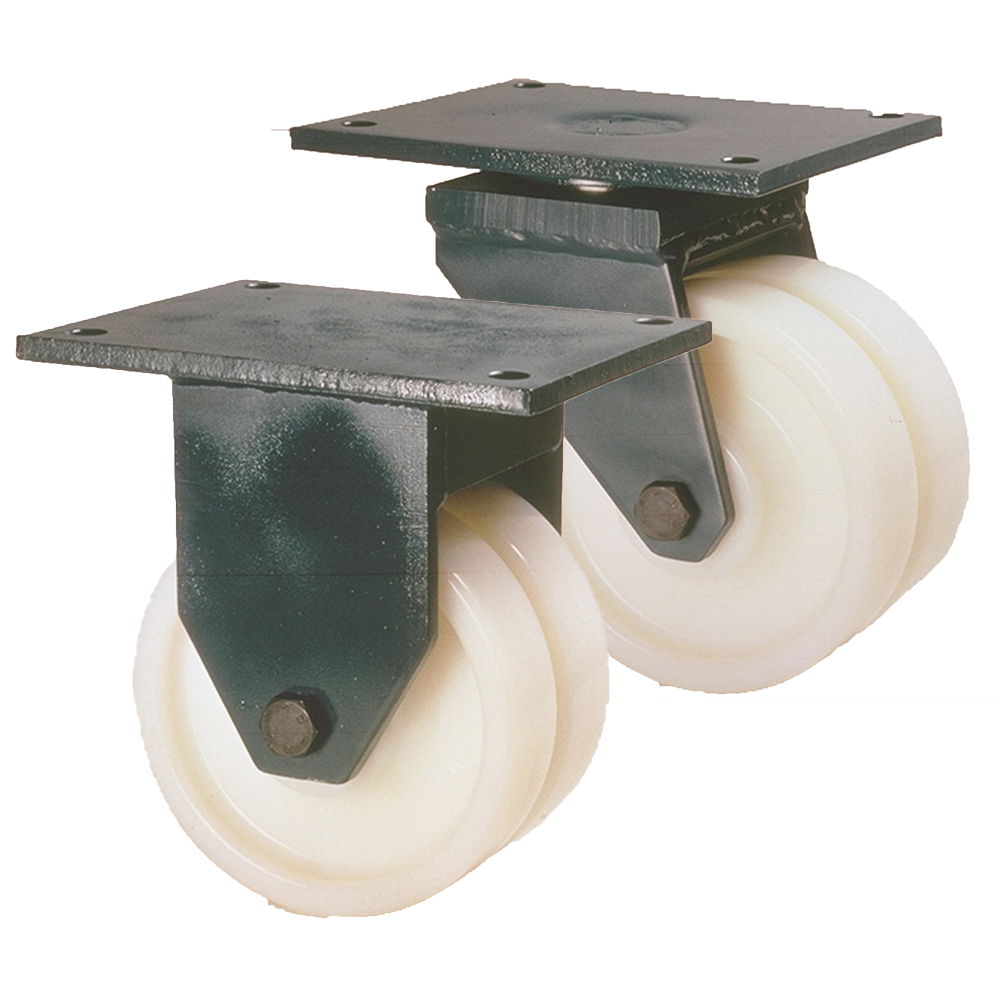 LAG G80 Nylon Twin Wheel Castors