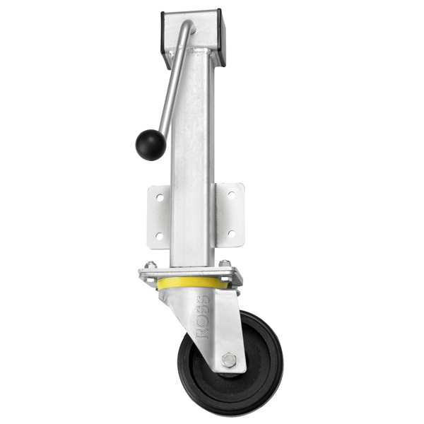 RH Series Heavy Duty Jacking Casters Rubber Wheel