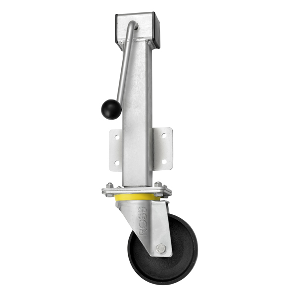 RH Series Heavy Duty Jacking Casters Cast Iron Wheel