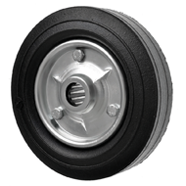 Heavy Duty Rubber Trolley Wheels