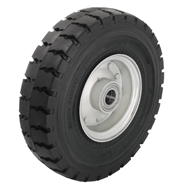 Heavy Duty Super-Elastic Solid Rubber Wheels