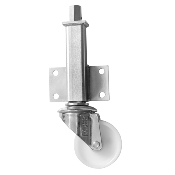 JA Series Medium Duty Jacking Casters Nylon Wheel